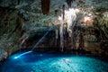 Cuzama cenote, Yucatan, Mexico Royalty Free Stock Photo