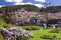Cuzco - Plaza de Armas - Peru Stock Photography