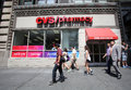 Cvs pharmacy new york city friday june shoppers walk past a drug store in new york city on wednesday july is the retail division Stock Image
