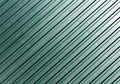 Cyan metal plate surface. Royalty Free Stock Photo