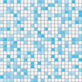 Cyan square tiles seamless vector texture