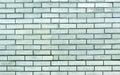 Cyan toned brick wall texture