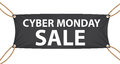 Cyber monday sale label vector illustration eps Stock Image