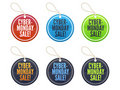 Cyber Monday Sale Tags Royalty Free Stock Photo