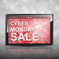 Cyber Monday Shopping Royalty Free Stock Photos