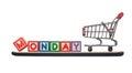 Cyber Monday Royalty Free Stock Photo