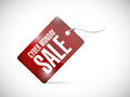Cyber monday tag illustration design over a white background Royalty Free Stock Images