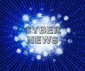 Cyber News Breaking Digital Headlines 2d Illustration