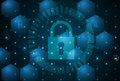 Cyber security and information or network protection. Future tec