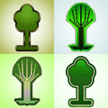 stock image of  Cyber tree tags