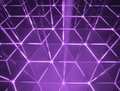 Cybercells abstract hexagon background Stock Image