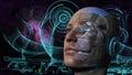 Cyborg Woman - Humanoid Royalty Free Stock Photo