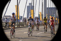 Cycle Race - Mandela Bridge Section Stock Photography