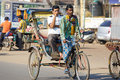 Cycle rickshaw in Puri Royalty Free Stock Photos