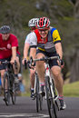 Cycling in Centennial Park, Sydney Royalty Free Stock Photo