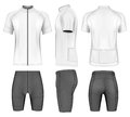 Cycling clothes for men Royalty Free Stock Photo