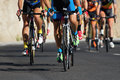 Cycling competition race Royalty Free Stock Photo
