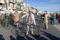 Cycling through history event in Imperia Stock Image