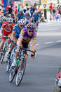 Cycling tournament Royalty Free Stock Photography