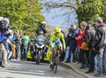 The Cyclist Alberto Contador - Paris-Nice 2016 Royalty Free Stock Photo