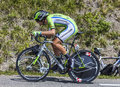 The cyclist alessandro de marchi chorges france july italian from cannondale team pedaling during stage of th edition of le Royalty Free Stock Photos