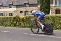 The cyclist alexandre geniez ardevon france july french from fdj fr team cycling during stage of edition of le tour de Royalty Free Stock Images