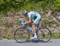 The cyclist anthony delaplace chorges france july french from sojasun team pedaling during stage of th edition of le tour de Stock Images