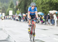 The Cyclist Benjamin King Royalty Free Stock Photo