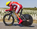 The cyclist christophe le mevel ardevon france july french from cofidis team cycling during stage of edition of tour de Stock Photo