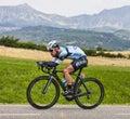 The Cyclist Mark Cavendish Royalty Free Stock Photo