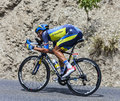 The cyclist matteo tosatto chorges france july italian from saxo tinkoff team pedaling during stage of th edition of le tour Royalty Free Stock Photography