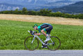 The cyclist pierre rolland chorges france july french from team europcar pedaling during stage of th edition of le tour de Royalty Free Stock Photos