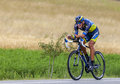 The cyclist roman kreuziger chorges france july czech from saxo tinkoff team pedaling during stage of th edition of le tour de Stock Image