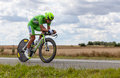 The Cyclist Sagan Peter Royalty Free Stock Image