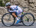 The cyclist simon geschke chorges france july german from argos shimano team pedaling during stage of th edition of le tour de Royalty Free Stock Images