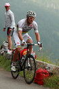The cyclist Thor Hushovd Stock Images