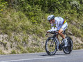 The cyclist tony martin chorges france july german from cannondale team pedaling during stage of th edition of le tour de Royalty Free Stock Image