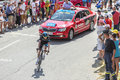 The Cyclist Wout Poels on Col du Glandon - Tour de France 2015