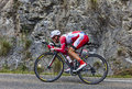 The cyclist yuri trofimov chorges france july russian from katusha team pedaling during stage of th edition of le tour de Royalty Free Stock Image