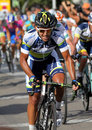 Cycliste australien Allan Davis d'Orica Greenedge Photos libres de droits