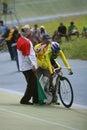 Cyclists Imagen de archivo libre de regalías