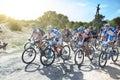 Cyclo-cross; Royalty Free Stock Photo