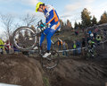 Cyclocross - Adam Craig Royalty Free Stock Photo