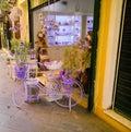 Cykla purplen Royaltyfria Foton