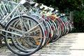 Cyklar Arkivfoton