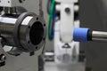 Cylindrical grinding machine Royalty Free Stock Photo