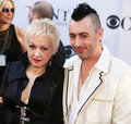 Cyndi Lauper and Alan Cumming Stock Photography