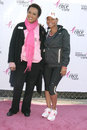 Cynthia chambers and nia long at the th annual susan g komen la county race for the cure dodger stadium los angeles ca Stock Image