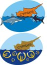 Cypriot crisis threat to the euro zone Royalty Free Stock Images