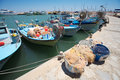 Cypriot fishing boats Royalty Free Stock Photo